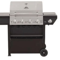 Barbeque- 4 burner +1 side burner